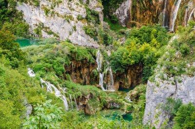 Фотообои Водопады в национальный парк Плитвицкие озера, Хорватия