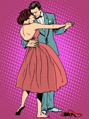 Фотообои Свадебный любителей танцев мужчина и женщина