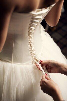 Фотообои Подвенечное платье