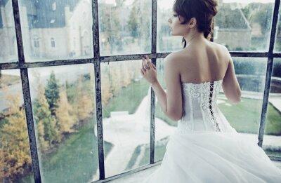 Фотообои Белый невесты
