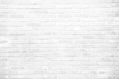 Фотообои Белый гранж кирпичная стена текстура фон