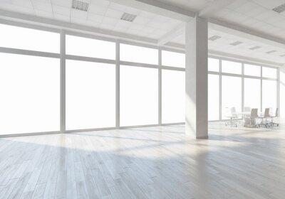Фотообои Белый интерьер офиса