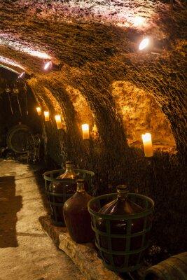 Фотообои Винный погреб в Велька тРНК, Токай вина региона, Словакии