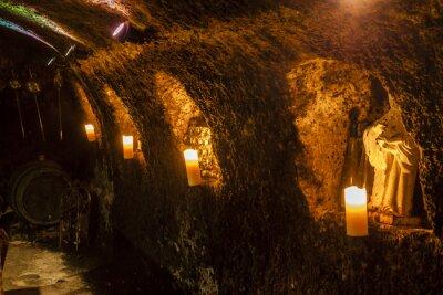 Фотообои винный погреб в Велка Трнк, винном районе Токая, Словакия