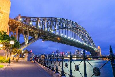 Фотообои Чудесная ночь горизонт Сидней, Австралия