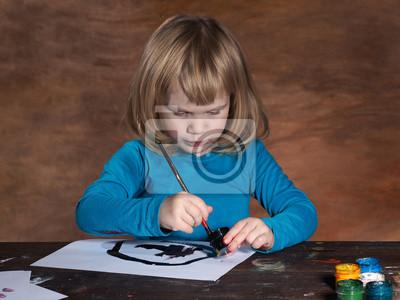 Почему дети рисуют только черным цветом