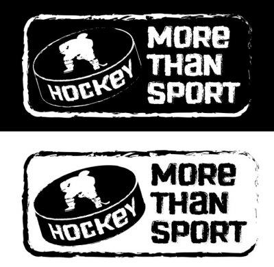 Фотообои Хоккейный принт на футболку