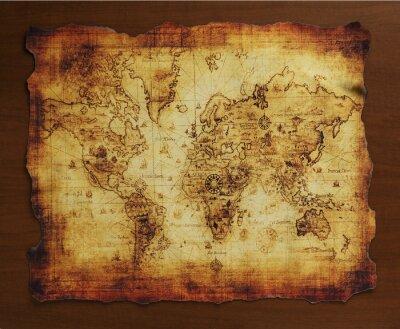 Фотообои 宝の地図/古い地図