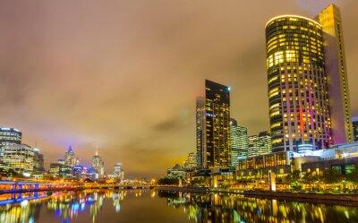 Фотообои Реки Ярра и Мельбурне горизонт.