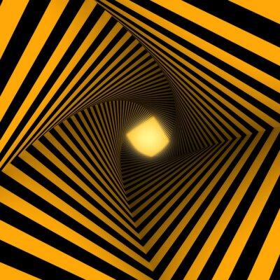 Фотообои желтый и черный фон