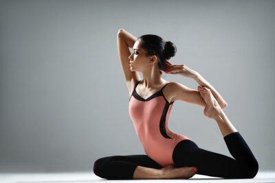 Фотообои упражнения йоги