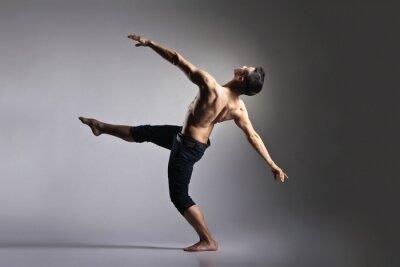Фотообои Молодые и стильный современный балерина