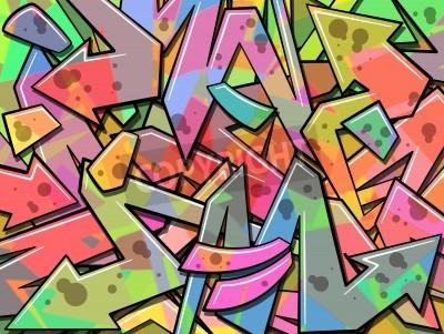 Плакат Красочные фоне граффити