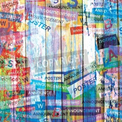 Плакат Абстрактный фон гранж