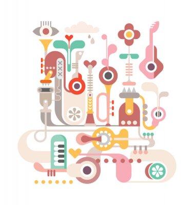 Плакат Аннотация Музыка