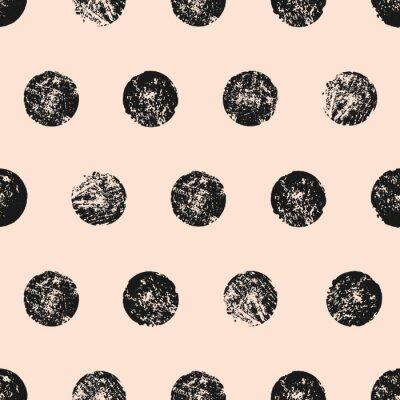 Плакат Аннотация круглой формы Бесшовные шаблон
