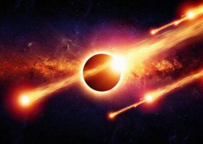 Плакат Аннотация пространство апокалипсис