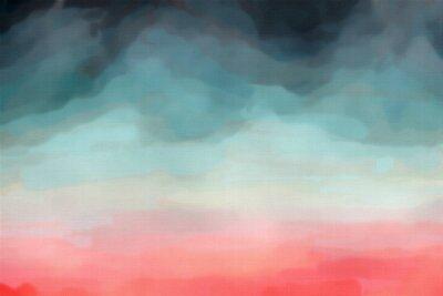Плакат Абстрактная акварель текстуры