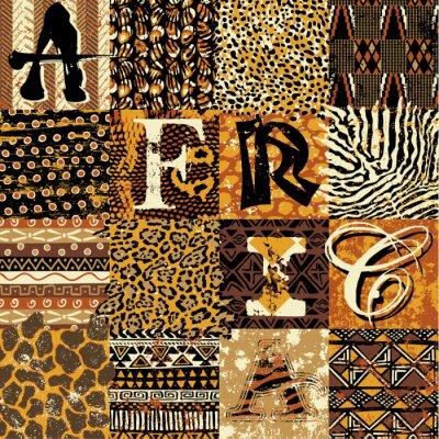 Плакат Африканский стиль вектор обои