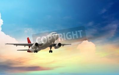Плакат airplane taking off