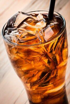 Плакат Алкогольные коктейли с колой