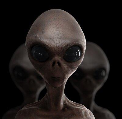 Плакат инопланетяне