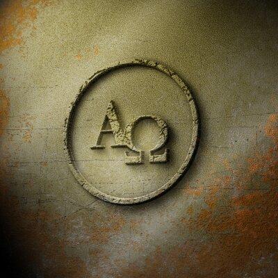 Плакат Alpha Omega - Seal - Закаленный