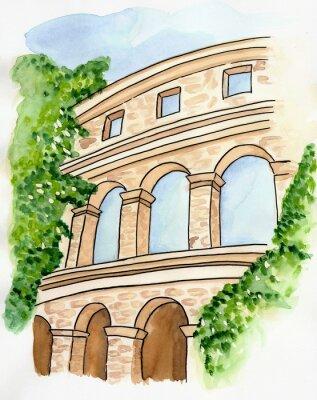 Плакат Altes амфитеатр