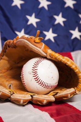 Плакат Американский бейсбол