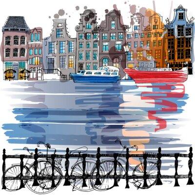 Плакат Амстердам