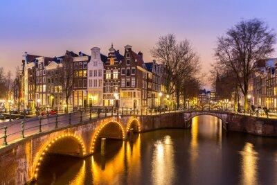 Плакат Amsterdam Canals