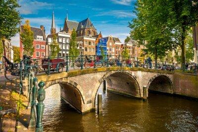 Плакат Амстердам городской