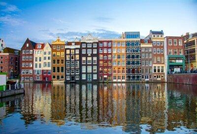 Плакат Амстердам, Нидерланды