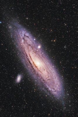 Плакат Галактика Андромеды