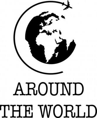 Плакат Around the World