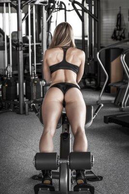 Плакат Ass тренировки