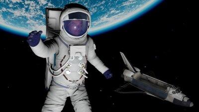 Плакат астронавт