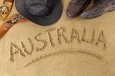Плакат Australia background
