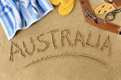 Плакат Австралия пляж фон