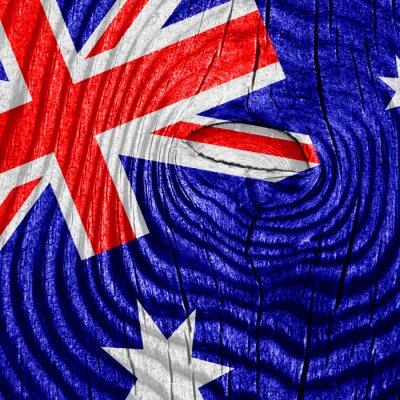 Плакат Австралия флаг