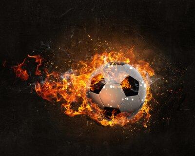 Плакат Бал горит в огне