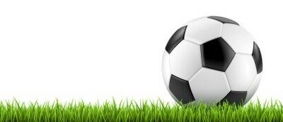 Плакат Ballon де футбол vectoriel 2