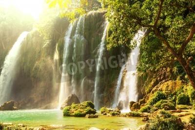 Плакат Пан GIOC - Detian водопад во Вьетнаме