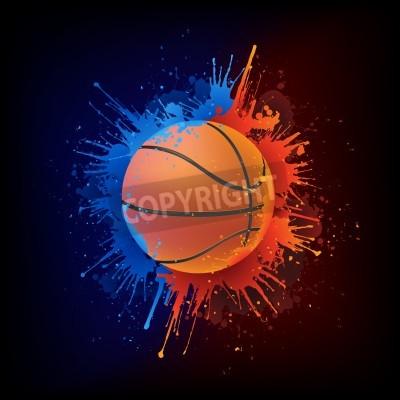 Плакат Баскетбольный мяч