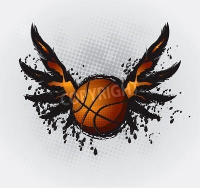 Плакат Basketball Design Element 1 Vector Drawing