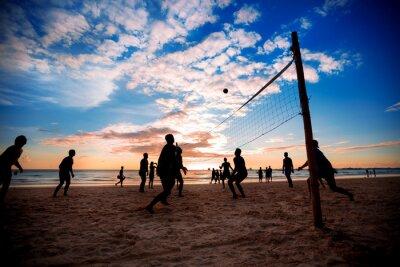 Плакат Пляжный волейбол