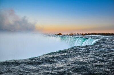 Плакат Красивые Ниагара падает вода, Канада
