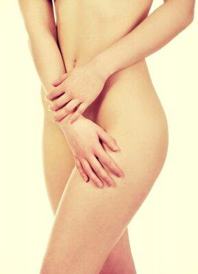 Плакат Красивая женщина тело.