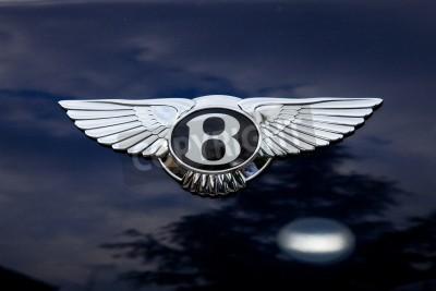 Плакат Bentley эмблема - за снимаем