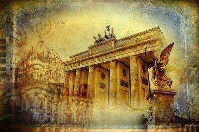 Плакат Берлин искусства иллюстрации дизайн
